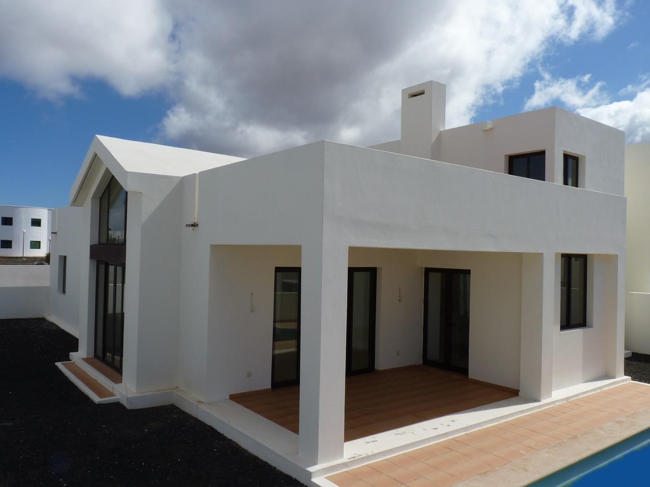Moderne Villa mit Meerblick in Playa Blanca! | Idolo Real Estate ...