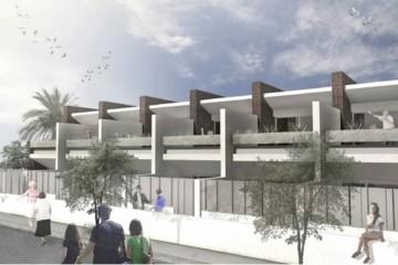 Nouvelle promotion de Duplex qui se construit dans le centre de Playa Blanca