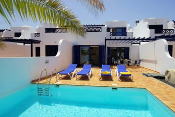 Villa direkt am Meer in Playa Blanca