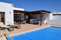 Luxurious villa in Playa Blanca