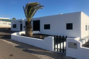 Bonita casa típica canaria con vistas al mar en Las Breñas
