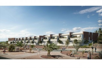 1-2-3 bedroom apartments. New development in the center of Playa Blanca