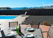 Villa with sea view in Playa Blanca
