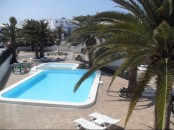 First floor apartment with sea view in Puerto del Carmen