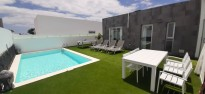 Modern villa for sale near the Marina Rubicon,